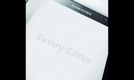 Samsung Galaxy Tab Luxury Edition