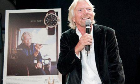Sir Richard Branson a hodinky Bulova Accutron