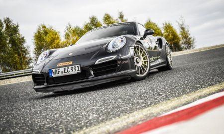 SportContact 6 při testování na Porsche Turbo 911 S_I