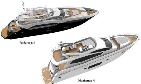 Nové jachty Sunseeker