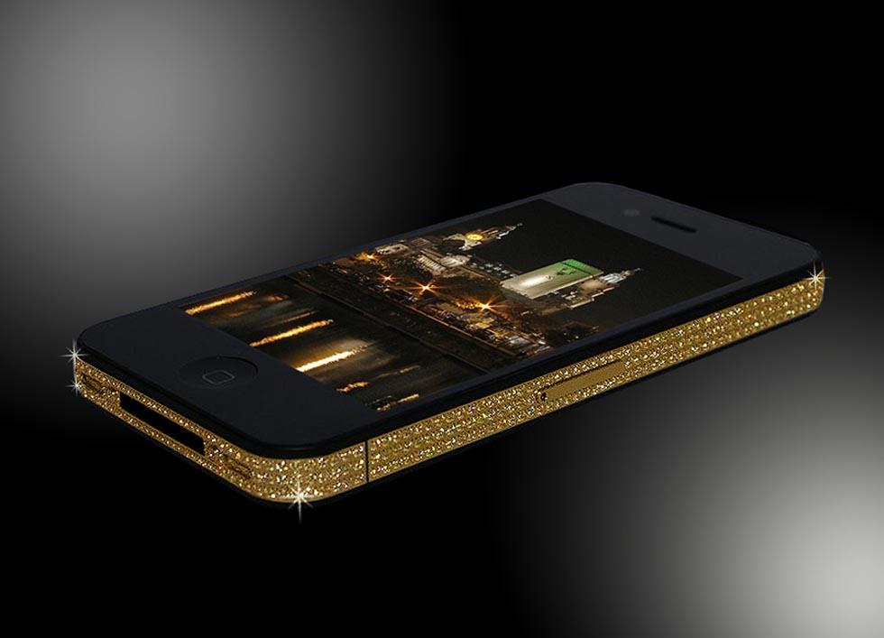 iPhone 4 Gold Edition - Stuart Hughes