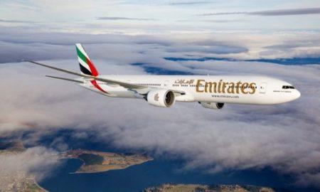 Emirates 777-300ER Air to Air