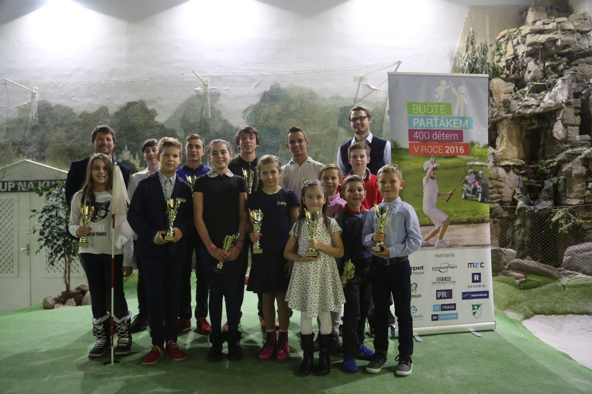 Vítězové US Kids Golf Cup 2016