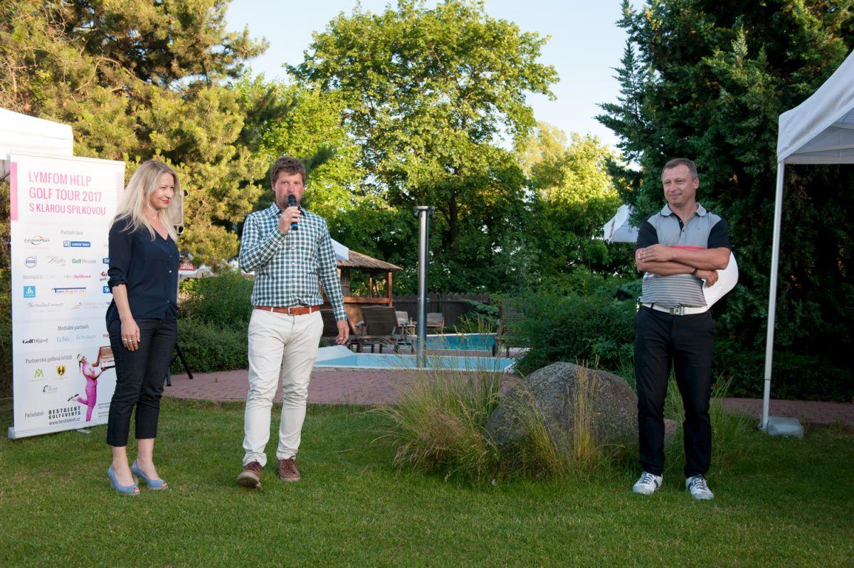 Vyhlášení vítězů Lymfom Help Golf Tour v Erpet Golf Centru (1)