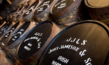 Warehouse at the Jameson Barrels
