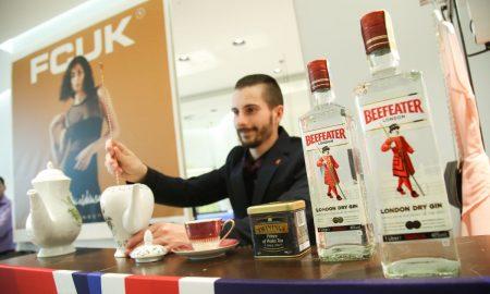 barmanský koutek s FCUK drinkem