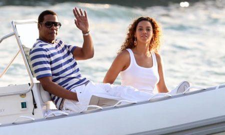 Jay-Z zdraví čtenáře iLuxus.cz. Beyoncé se má na co těšit - čeká ji nová jachta a možná nová profese lodní kormidelnice.