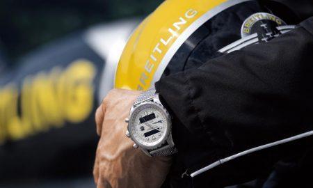 Nové hodinky na zápěstí pilota Breitling Jet Teamu.