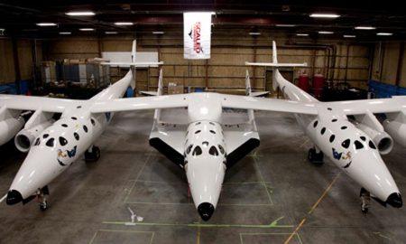 Vesmírná letadla SpaceshipTwo