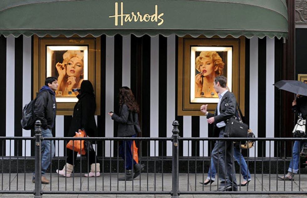 Výkladní skříň Harrod's