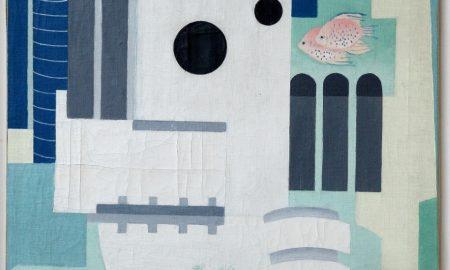Potápěč (Le Scaphandrier; Le Plongeur)1926, olej, plátno, 86 x 64 cm, značeno vpravo dole: Toyen 26