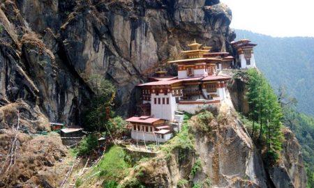 Taktshang Goemba Resort v Bhútánu