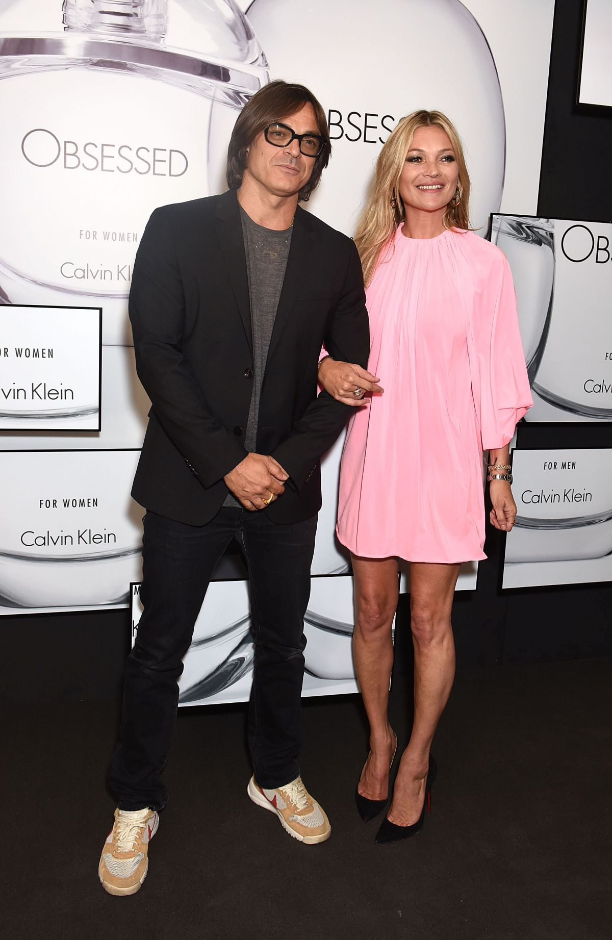 LONDON, ENGLAND - JUNE 22: Mario Sorrenti and Kate Moss attend the Kate Moss & Mario Sorrenti launch of the OBSESSED Calvin Klein fragrance at Spencer House on June 22, 2017 in London, England. (Photo by David M Benett/Dave Benett / Getty Images for Calvin Klein, Inc.) *** Local Caption *** Mario Sorrenti; Kate Moss